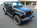 2012 Jeep Wrangler Unlimited Black