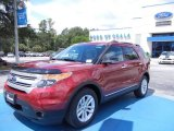 2013 Ruby Red Metallic Ford Explorer XLT #68093348