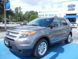 2013 Sterling Gray Metallic Ford Explorer XLT #68093347