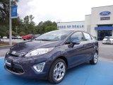 2013 Violet Gray Ford Fiesta Titanium Sedan #68093342