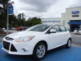 2012 Oxford White Ford Focus SEL 5-Door #68093338