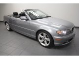 2004 Silver Grey Metallic BMW 3 Series 325i Convertible #68093637