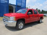 2013 Victory Red Chevrolet Silverado 1500 LT Crew Cab 4x4 #68093318