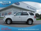2009 White Suede Ford Escape Limited 4WD #68093293