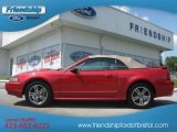 2002 Laser Red Metallic Ford Mustang GT Convertible #68093292