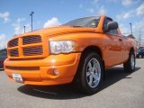 2005 Custom Orange Dodge Ram 1500 GTXtreme Regular Cab #6789738