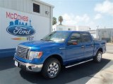 2012 Blue Flame Metallic Ford F150 XLT SuperCrew #68093273