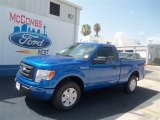 2012 Blue Flame Metallic Ford F150 STX Regular Cab #68093272