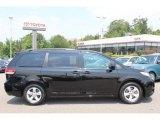 2011 Black Toyota Sienna LE #68093554
