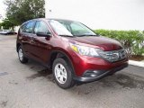 2012 Basque Red Pearl II Honda CR-V LX #68093167