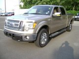 2011 Pale Adobe Metallic Ford F150 Lariat SuperCrew 4x4 #68093143