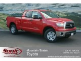 2012 Radiant Red Toyota Tundra Double Cab 4x4 #68093113