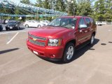 2013 Crystal Red Tintcoat Chevrolet Tahoe LTZ #68093726