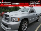 2005 Bright Silver Metallic Dodge Ram 1500 SRT-10 Quad Cab #68093399