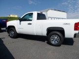 2012 Summit White Chevrolet Silverado 1500 LS Regular Cab 4x4 #68093717