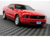 2006 Torch Red Ford Mustang V6 Deluxe Coupe #68093667