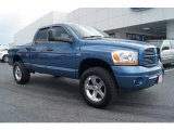 2006 Atlantic Blue Pearl Dodge Ram 1500 Sport Quad Cab 4x4 #68152573