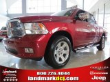 2012 Deep Cherry Red Crystal Pearl Dodge Ram 1500 Laramie Limited Crew Cab #68152558