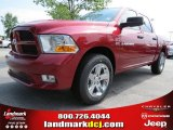 2012 Deep Cherry Red Crystal Pearl Dodge Ram 1500 Express Crew Cab #68152554