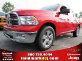 2012 Flame Red Dodge Ram 1500 Big Horn Crew Cab 4x4 #68152552