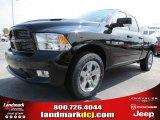 2012 Black Dodge Ram 1500 Sport Quad Cab #68152551