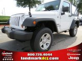 2012 Bright White Jeep Wrangler Sport 4x4 #68152531