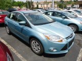 2012 Frosted Glass Metallic Ford Focus SE Sedan #68152487