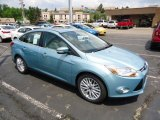 2012 Frosted Glass Metallic Ford Focus SEL Sedan #68152485