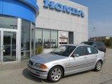 1999 Titanium Silver Metallic BMW 3 Series 323i Sedan #68152472