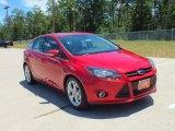 2012 Red Candy Metallic Ford Focus Titanium 5-Door #68153279
