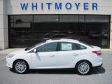 2012 Oxford White Ford Focus SEL Sedan #68152864