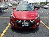 2013 Volcanic Red Hyundai Elantra GT #68152400