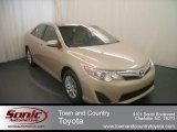 2012 Sandy Beach Metallic Toyota Camry LE #68152834