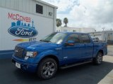2012 Blue Flame Metallic Ford F150 FX2 SuperCrew #68152377