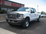 2002 Oxford White Ford F250 Super Duty XL SuperCab 4x4 #68153199