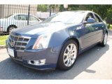 2009 Blue Diamond Tri-Coat Cadillac CTS 4 AWD Sedan #68152325