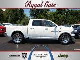 2012 Bright White Dodge Ram 1500 Laramie Crew Cab 4x4 #68153167