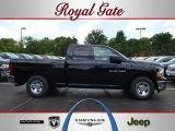 2012 Black Dodge Ram 1500 Tradesman Quad Cab #68153163