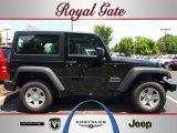 2012 Black Jeep Wrangler Sport 4x4 #68152294