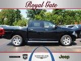 2012 Black Dodge Ram 1500 Laramie Longhorn Crew Cab 4x4 #68152284