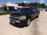 2009 Black Chevrolet Silverado 1500 LT Crew Cab #68152775