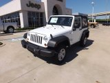 2012 Bright White Jeep Wrangler Sport 4x4 #68152766