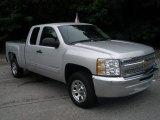 2012 Silver Ice Metallic Chevrolet Silverado 1500 LT Extended Cab #68153129