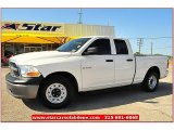 2009 Stone White Dodge Ram 1500 ST Quad Cab #68152754