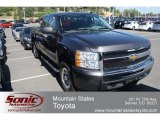 2011 Taupe Gray Metallic Chevrolet Silverado 1500 LS Extended Cab 4x4 #68152223