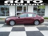2011 Basque Red Pearl Honda Accord EX-L Sedan #68152747
