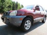 2004 Merlot Red Hyundai Santa Fe GLS #68153109