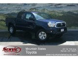 2012 Nautical Blue Metallic Toyota Tacoma V6 SR5 Double Cab 4x4 #68152195