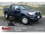 2012 Nautical Blue Metallic Toyota Tacoma V6 Double Cab 4x4 #68152194