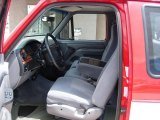 1995 Ford F150 XLT Extended Cab 4x4 Gray Interior
